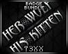 !TX - Wolf/Kitten Bundle