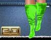 3*D GREEN BOOTS
