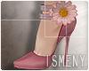 [Is] Flower Heels Pink