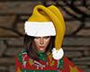 Gold Santa Hat (F)
