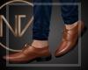 HISNV | Camel Dress Shoe