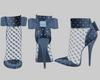 Soft Blue Pumps