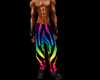 animated rave pants (M)