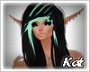 Kat   Loren black green