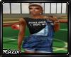 Overalls + T-Shirt