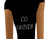 FEMALE CO OWNER T-SHIRTS