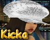 Urban White Puffer Hat