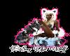 Sexy Lil Wolf sticker