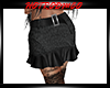 R&R Black Lep skirt