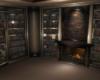 Cozy Winter Library
