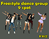 Freestyle dance group 9s