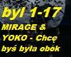 MIRAGE & YOKO - Chce bys