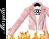 Pink Designer Leather