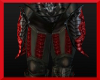 Red/silver bottom armor