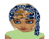 HD Head Scarf Blond Hair