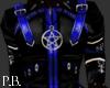 CyGoth Jacket - Blue