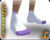 Warm Wooly Socks Purple