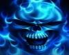 Flaming Skull Bow