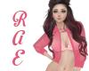 R| Sheer Pink Jacket