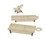 Massage table sandwhite