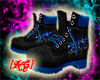 [AG]Graffiti Black Boots