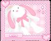 bunny backpack!