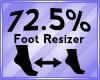 Foot Scaler 72.5%