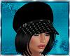Black Hair & Black Cap