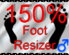 G`Foot Resizer 150%