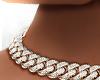 ʟx Cuban Diamond Choker