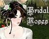 Bridal Roses Hair