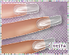 V Nails:Square Plastic