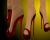 [ZA] SHOES RED BLACK