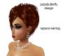 sqaure earrings