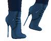 Blue Dots Boots