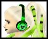 Kika Headset-F-green