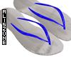 [AZ] Blue flip flop