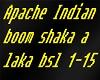 Apache Indian chackalaka