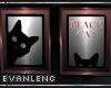 .BLACK CAT FRAME TRIO.