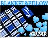 Baby Plaid Blue Blanket