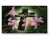 Easter Cross  Sticker 2
