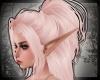+ Noir Ponytail - blush