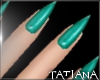 lTl Green Nails