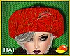 Winter Orange Hat