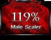[💋] Scaler 119%