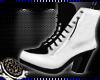 曆 Lala Boots White