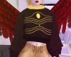 Fem Hawks Crop Sweater