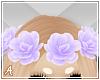 A| Purple Flower Crown