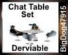 [BD] Chat Table Set