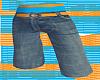 *CA* Blue/Orange Shorts